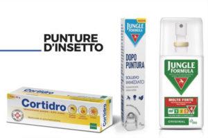 Prodotti Punture insetto Pharmamef Farmacia Comunale Parco Leonardo, Farmacia Tiburtina, Farmacia Da Vinci.